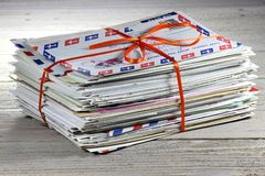 Lettres 01 Images libres de droits