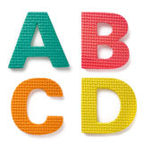 lettres Images stock