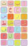 Lettres arabes illustration libre de droits
