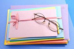 Lettres colorées Photos libres de droits