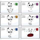 Lettres d'émotion illustration libre de droits