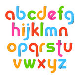 Lettres d'alphabet Images libres de droits