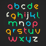 Lettres d'alphabet Images stock