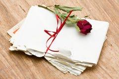 Lettres d'amour Photo libre de droits