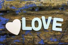 Lettres d'amour Image libre de droits