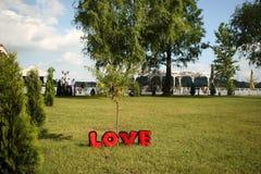 Lettres d'amour Photos libres de droits