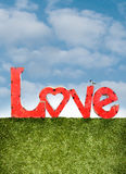 Lettres d'amour Image stock