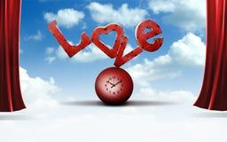 Lettres d'amour illustration de vecteur