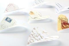 Lettres d'amour de vol Images stock
