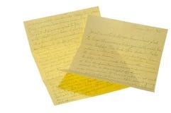 Lettres de 1975 Photo stock