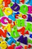 Lettres de jouet Photo libre de droits