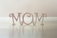 Lettres de jour de mère Image libre de droits