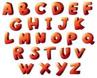 Lettres de l'alphabet Photographie stock