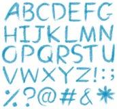 Lettres de l'alphabet illustration stock