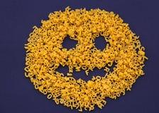 Lettres de pâtes Image stock