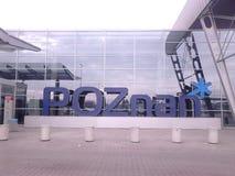 Lettres de Poznan images libres de droits