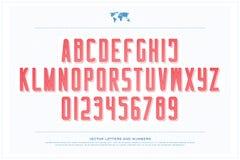 Lettres et nombres d'alphabet de style de billet de banque , type de police d'argent Photo stock