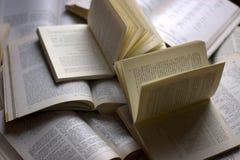 Lettres et poèmes Photo stock