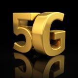 lettres 5G Image libre de droits