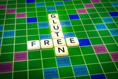 Lettres gratuites de gluten Photo de concept Photo libre de droits