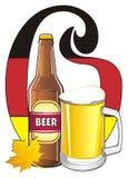 Lettres si la bière signe Images stock