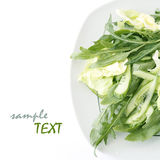 Lettuce and arugula Stock Photo