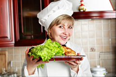 Lettuce dish Royalty Free Stock Photo