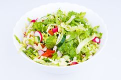 Lettuce from green goods Royalty Free Stock Photography