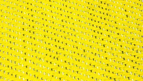 Lettuce green - Yellow Texture. Wire and Venyl netting. Bright colours Stock Photography