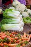 Lettuce at market in Myanmar Royalty Free Stock Image