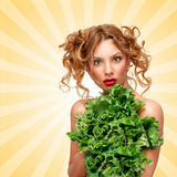 Lettuce protection. Stock Images