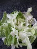 Lettuce salad closeup Royalty Free Stock Photos
