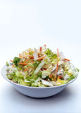 Lettuce salad in vertical Stock Photo