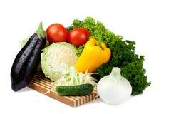 Lettuce set Stock Photos