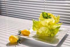 Lettuce snack Stock Photos
