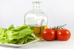 Lettuce and vegetables Royalty Free Stock Photo
