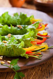 Lettuce wraps Stock Images