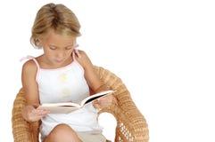 Lettura del bambino Immagine Stock Libera da Diritti