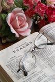 Lettura della bibbia Immagine Stock Libera da Diritti