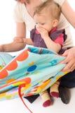 Lettura della madre per il bambino Fotografia Stock Libera da Diritti