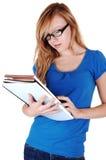 Lettura della ragazza. Fotografia Stock Libera da Diritti