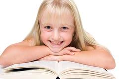 Lettura della ragazza immagini stock libere da diritti