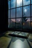Lettura di notte Fotografia Stock
