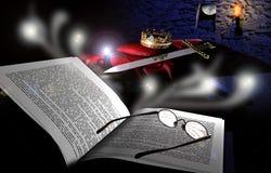 Lettura ed immaginare Immagini Stock Libere da Diritti