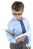 Lettura o studio dell'allievo Fotografie Stock