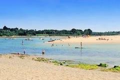 Letty Beach et La Mer Blanche images stock