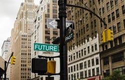 Letzt und Zukunft Lizenzfreie Stockfotografie