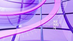 Letzte Nachrichten Sendungs-dynamische Grafiken lizenzfreie abbildung