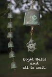 Letzter Anruf - acht Bell und alle ist gut Lizenzfreies Stockbild
