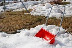 Letzter Schnee stockbilder